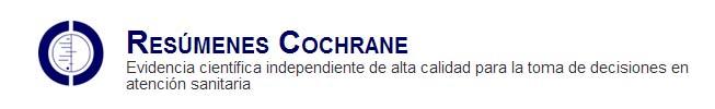 Resumenes Cochrane