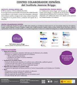 Centro Colaborador Español del Instituto Joanna Briggs