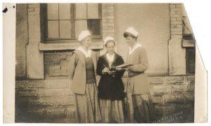 Nurses at U.S. Army Base Hospital No. 45