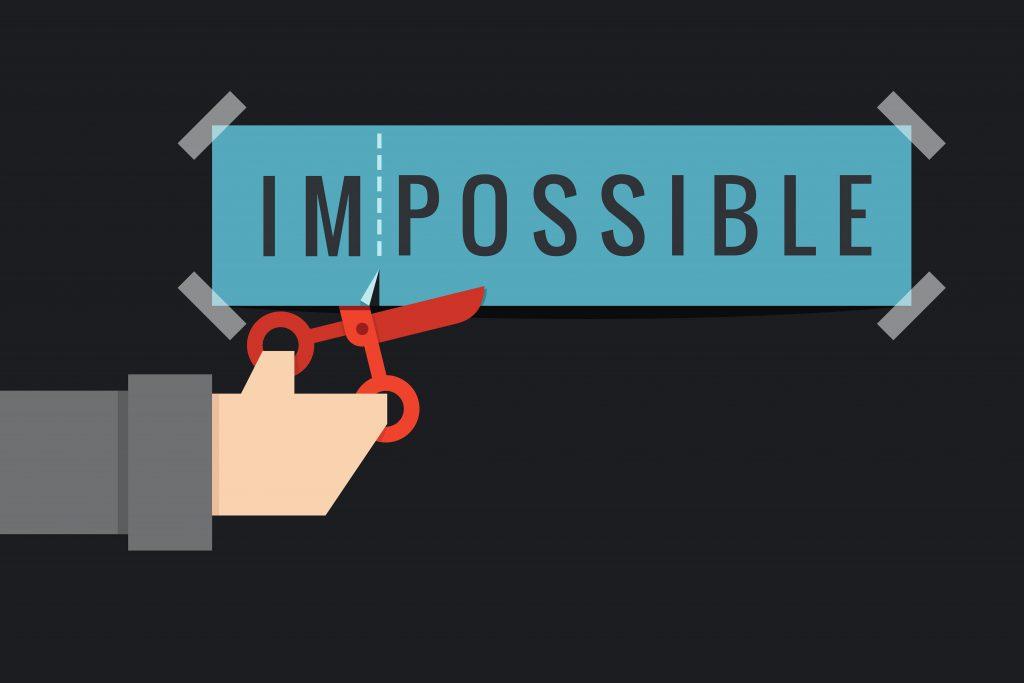 Imposible via Shutterstock