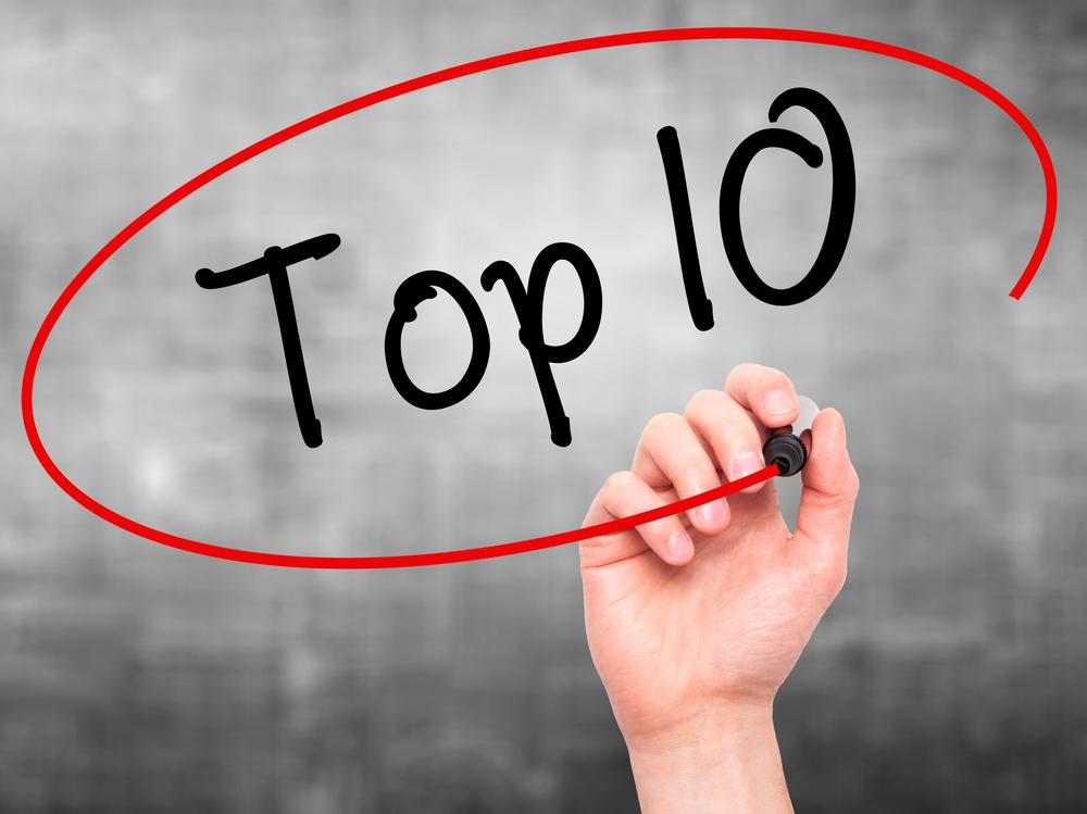 Top 10 Shutterstock