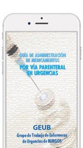 App Guía Medicamentos parenteral Urgencias